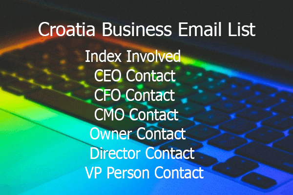 Croatia Business Email List