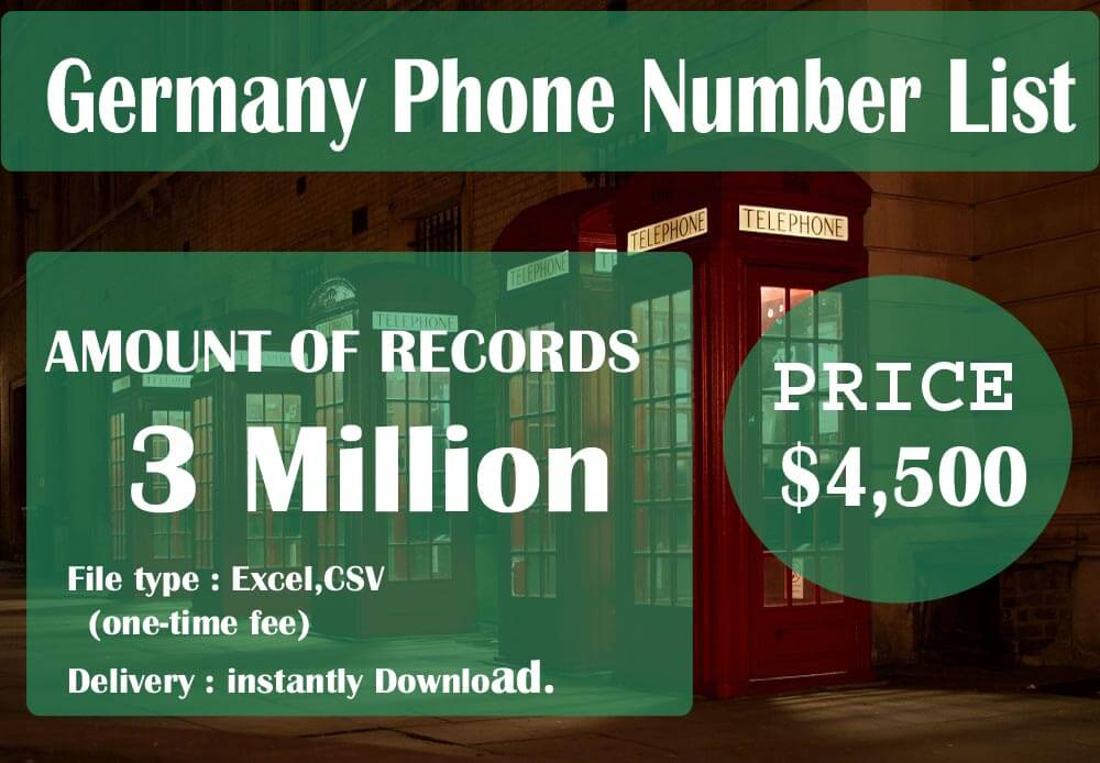 Germany Phone Number List
