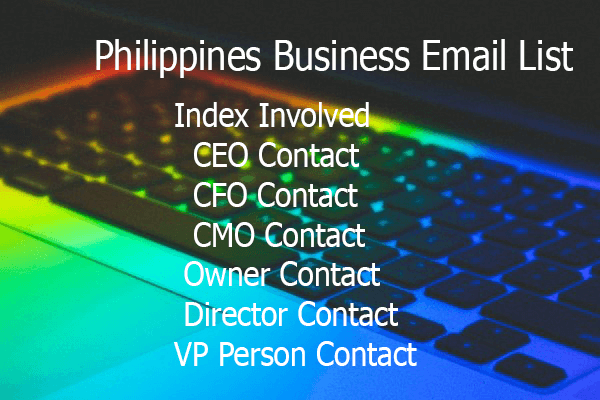 Philippines Business Email List