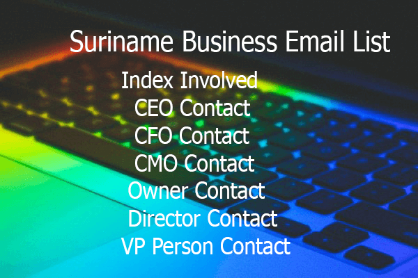 Suriname Business Email List