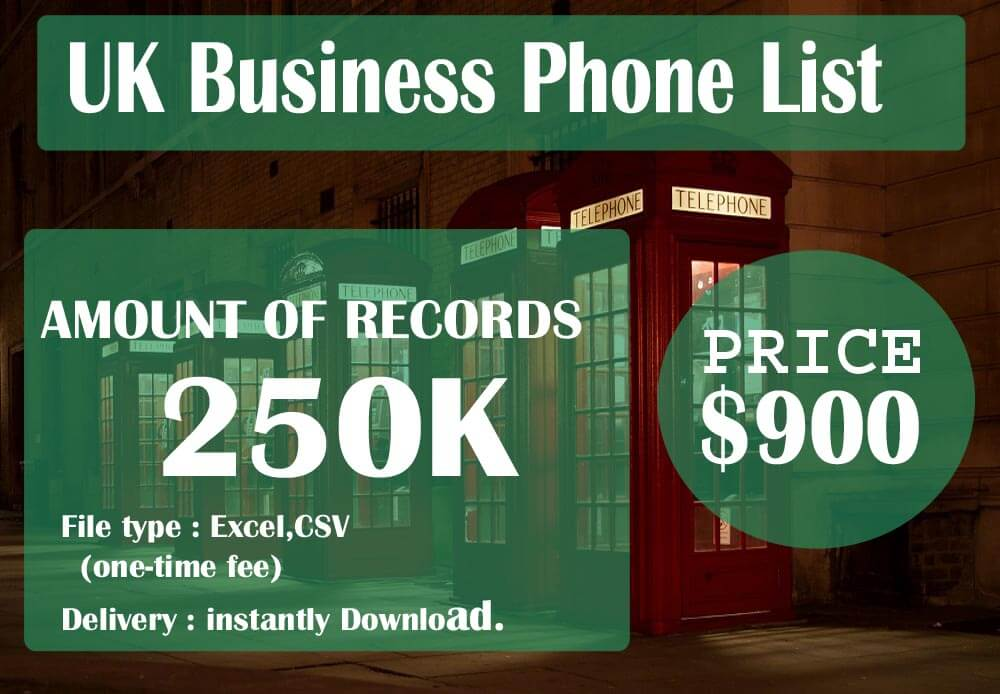 UK Business Phone List