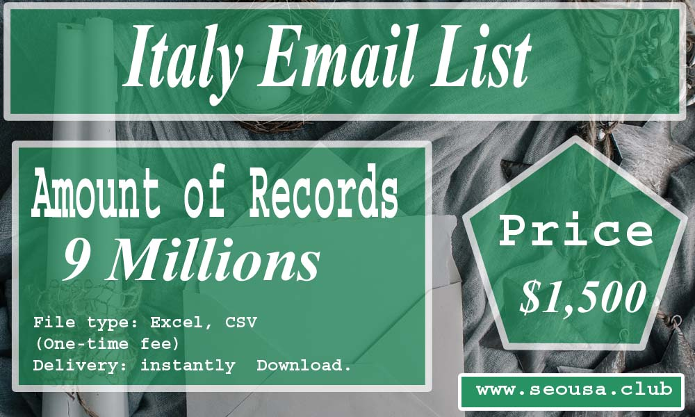 Italy Email List
