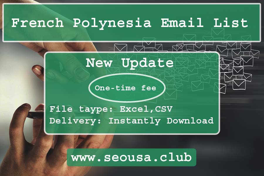 French Polynesia Email List
