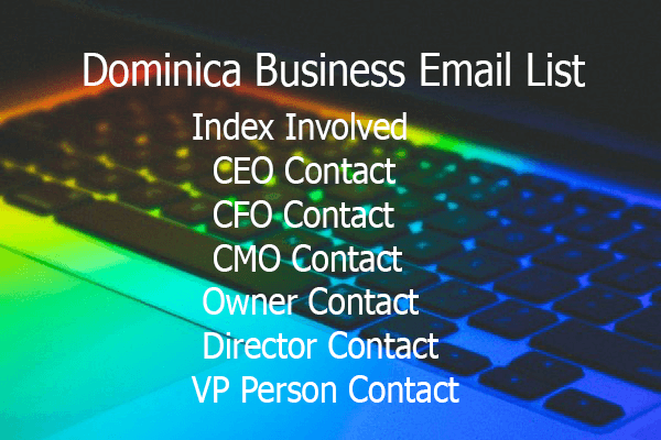 Dominica Business Email List