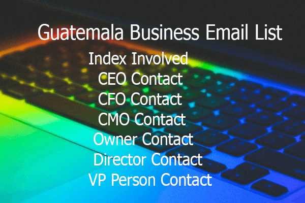 Guatemala Business Email List
