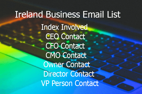 Ireland Business Email List