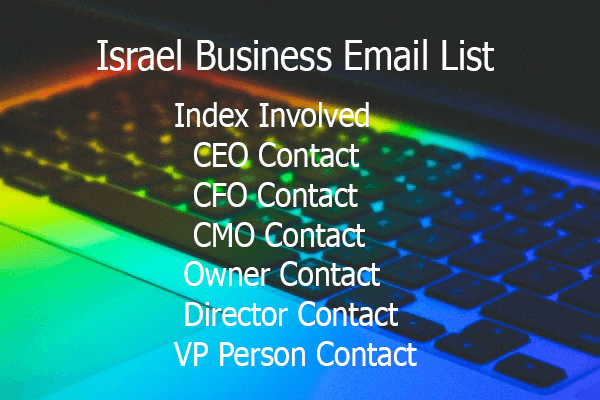 Israel Business Email List