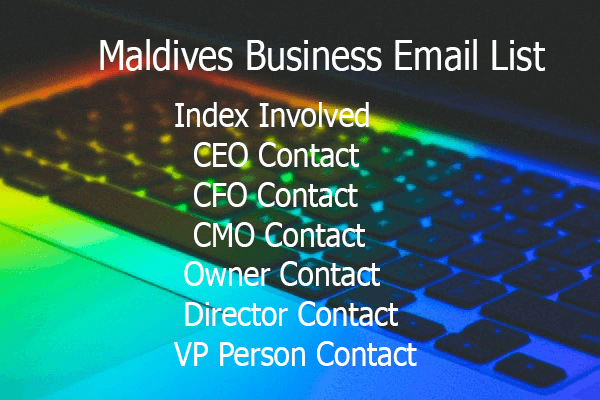 Maldives Business Email List