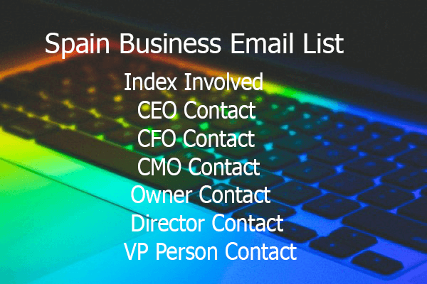 Spain Business Email List