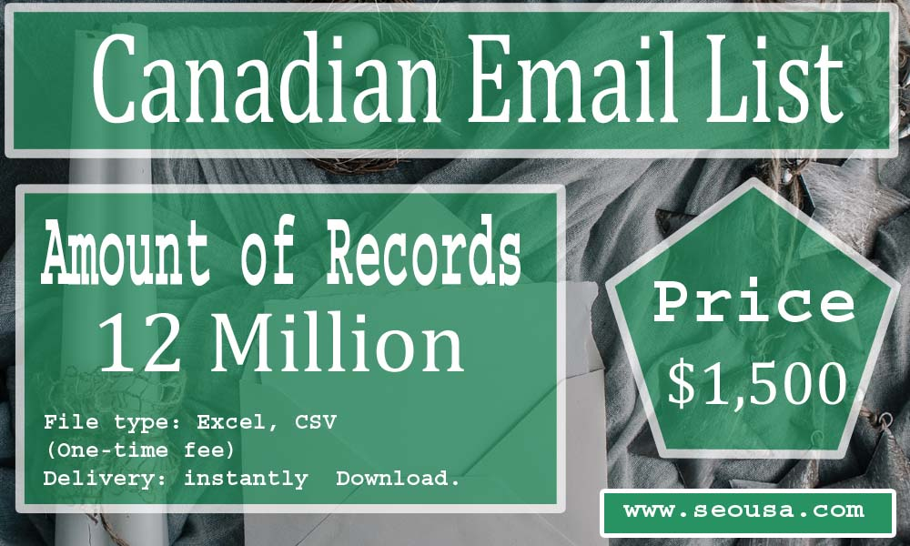 Canadian Email List