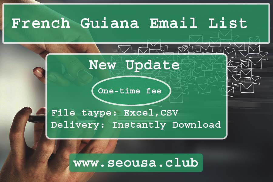 French Guiana Email List