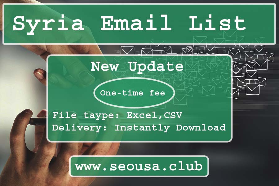 Syria Email List
